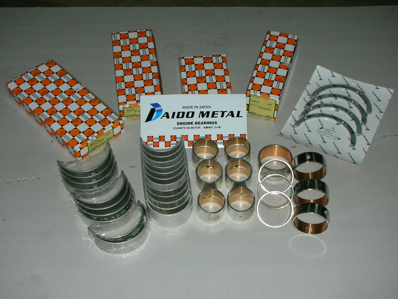 7Engine bearing, con rod bearing, main bearing, thrust washer